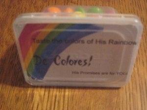 rainbow palanca/agape