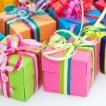 Small palanca/agape gift boxes