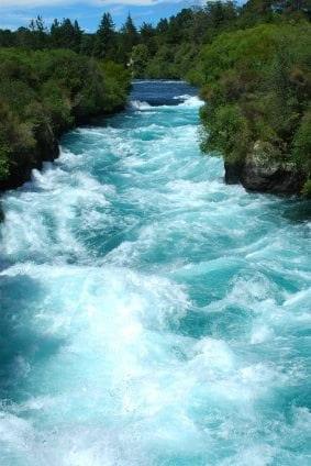Rushing river of peace