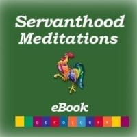Servanthood Meditations