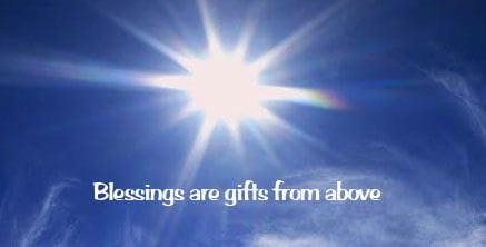 Blessings Are Not Bought
