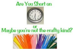 Are You Short On Time or Maybe You Are Not the Crafty Kind?