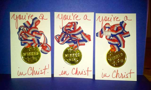 You Are A Winner In Christ Palanca/Agape Idea