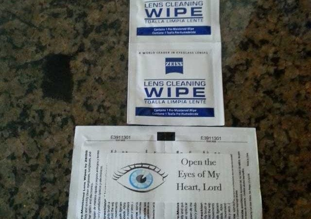 Lens Cleaning Wipes Palanca/Agape