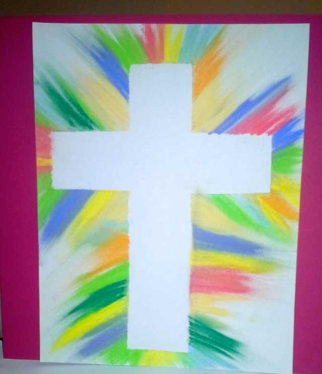 Pastel-Rub-Cross