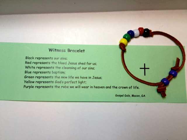 Witness-Bracelet