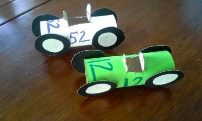 Toilet Paper Race Car - Palanca and Agape Idea