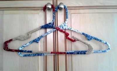 Patchwork Coat Hanger